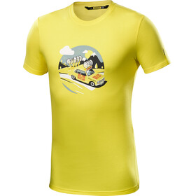 Mavic SSC Yellow Car T-Shirt Herrer gul